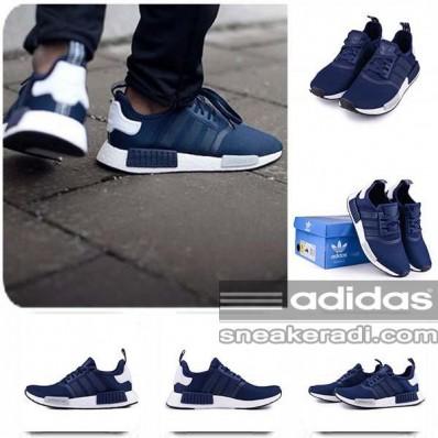 adidas nmd homme bleu