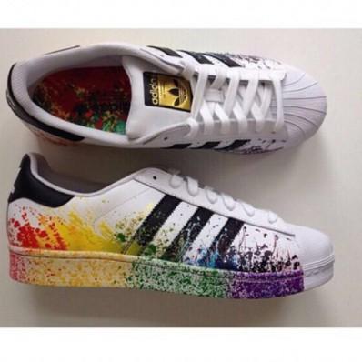 adidas original rainbow