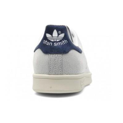 adidas stan smith craquelé bleu