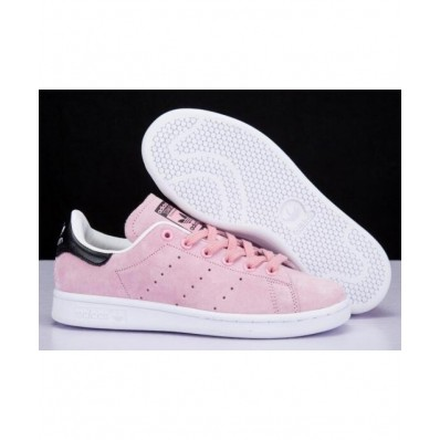 adidas stan smith femme blanche et rose
