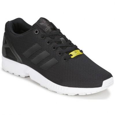 adidas zx flux blanche et noir