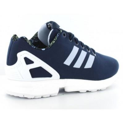 adidas zx flux bleu marine solde
