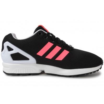 adidas zx flux chaussures bordeaux noir