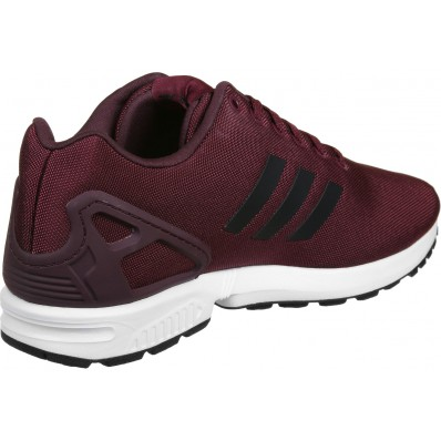 adidas zx flux chaussures coloris bordeaux noir
