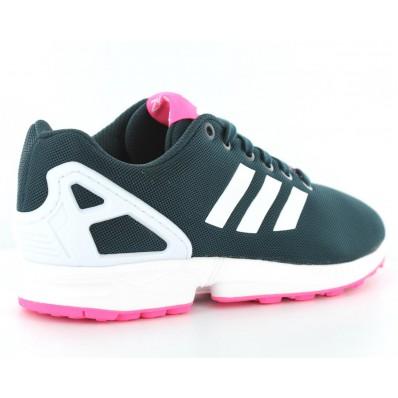 adidas zx flux femme rose et blanc