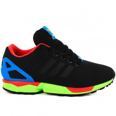 adidas zx flux homme fluo