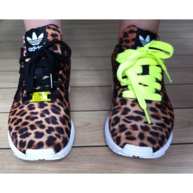adidas zx flux leopard homme