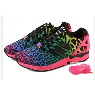 adidas zx flux leopard solde