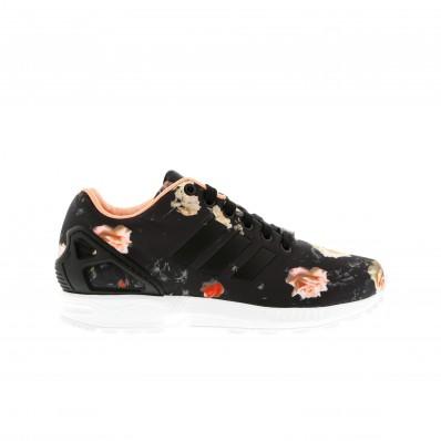 adidas zx flux noir a fleur