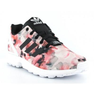 adidas zx flux pas cher rose