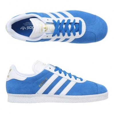 basket adidas gazelle homme bleu