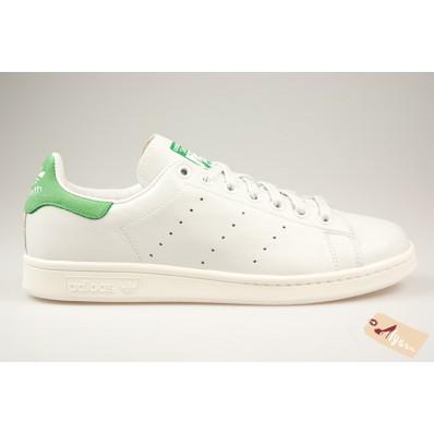 basket adidas stan smith og blanc et vert