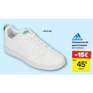 baskets adidas carrefour