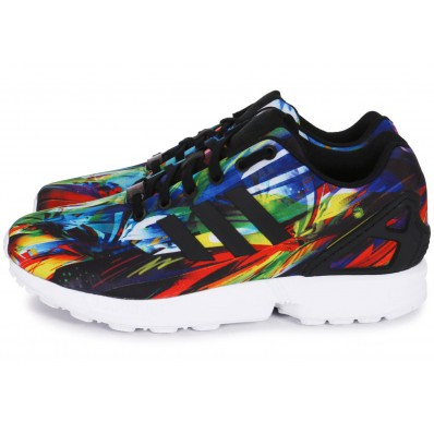 baskets adidas multicolore