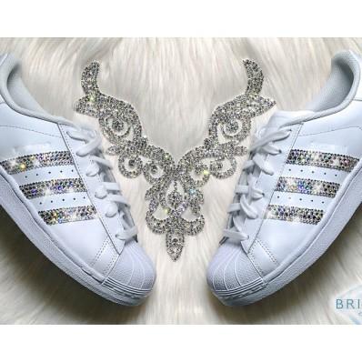 chaussures adidas à strass