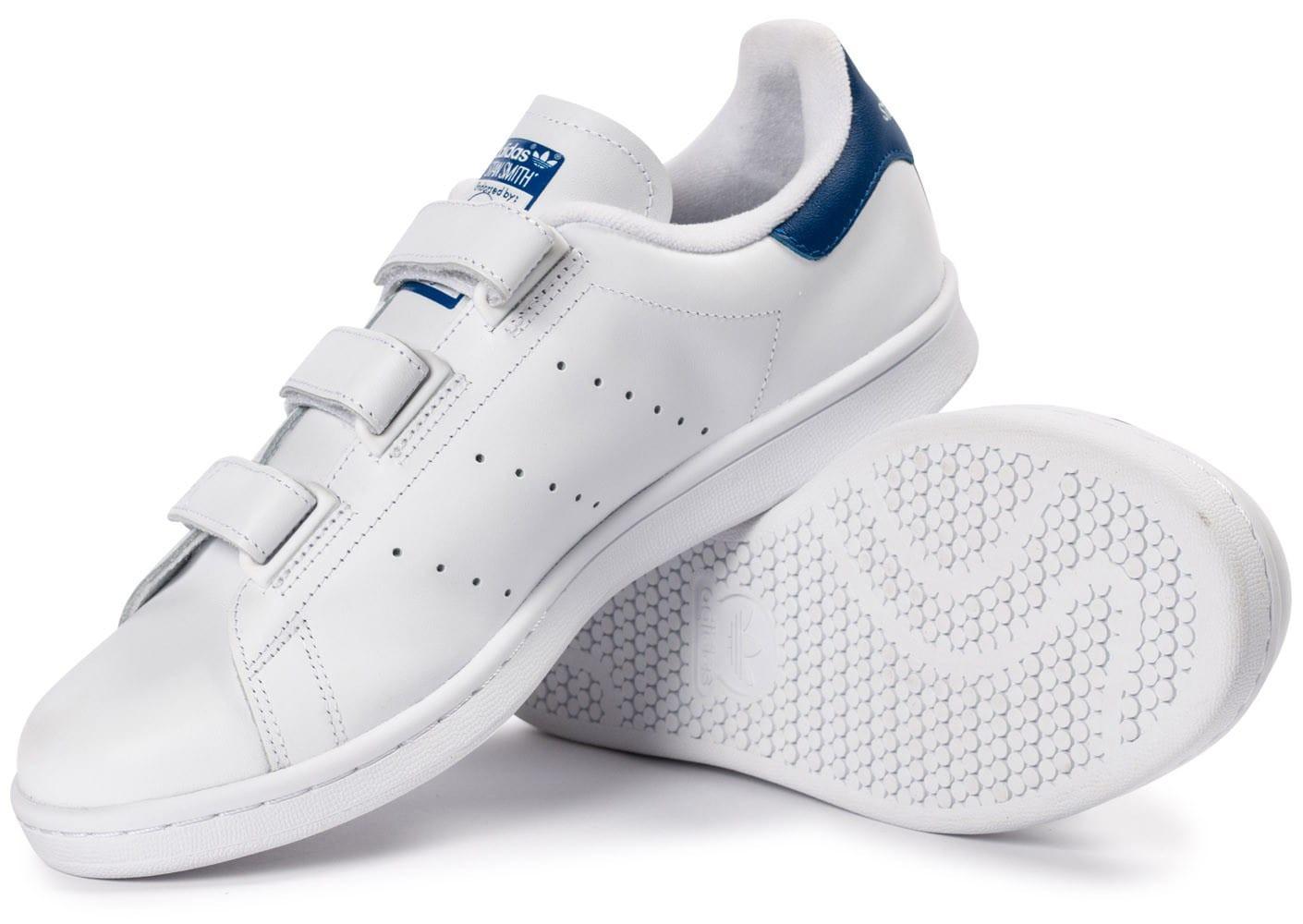 Adidas Adidas Scratch Stan Scratch Bleu Stan Bleu Smith ...