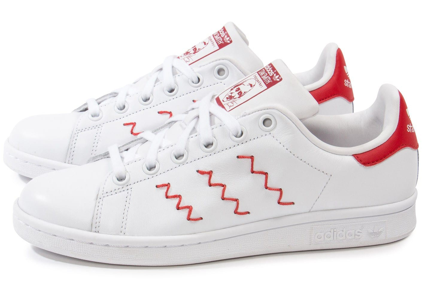 Get 1d0a8 C0d70 Adidas Stan Smith Rouge Zag Zig mnw0v8N