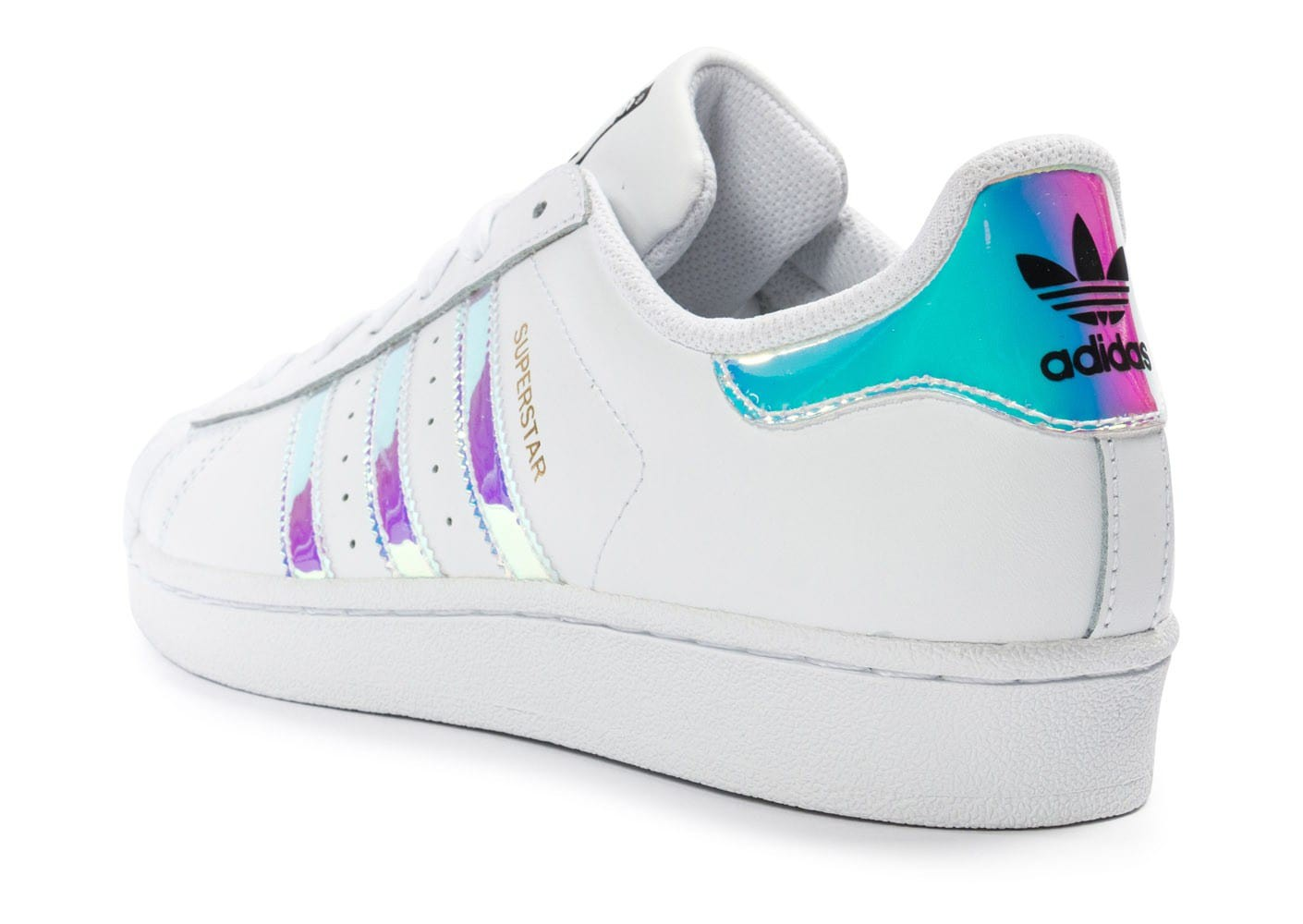 adidas superstar irisée
