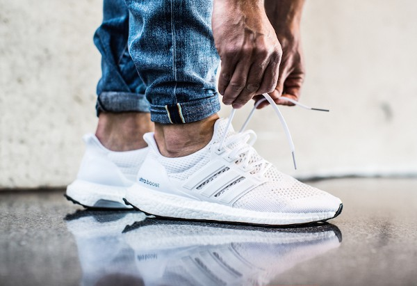 ultra boost homme blanche
