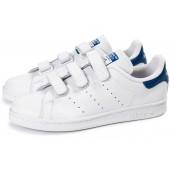 adidas stan smith bleu blanc