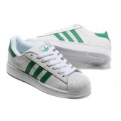 adidas superstar femme verte et blanche