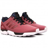 adidas zx flux bordeau