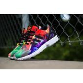 adidas zx flux coloré