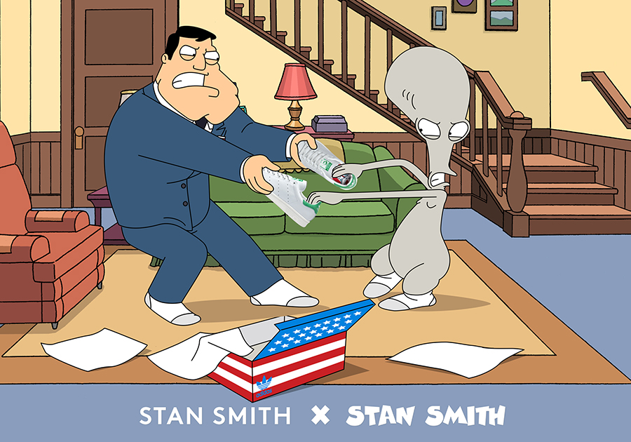 adidas originals stan smith american dad