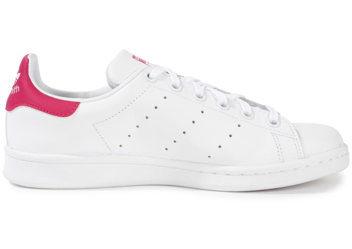 adidas stan smith blanc et rose