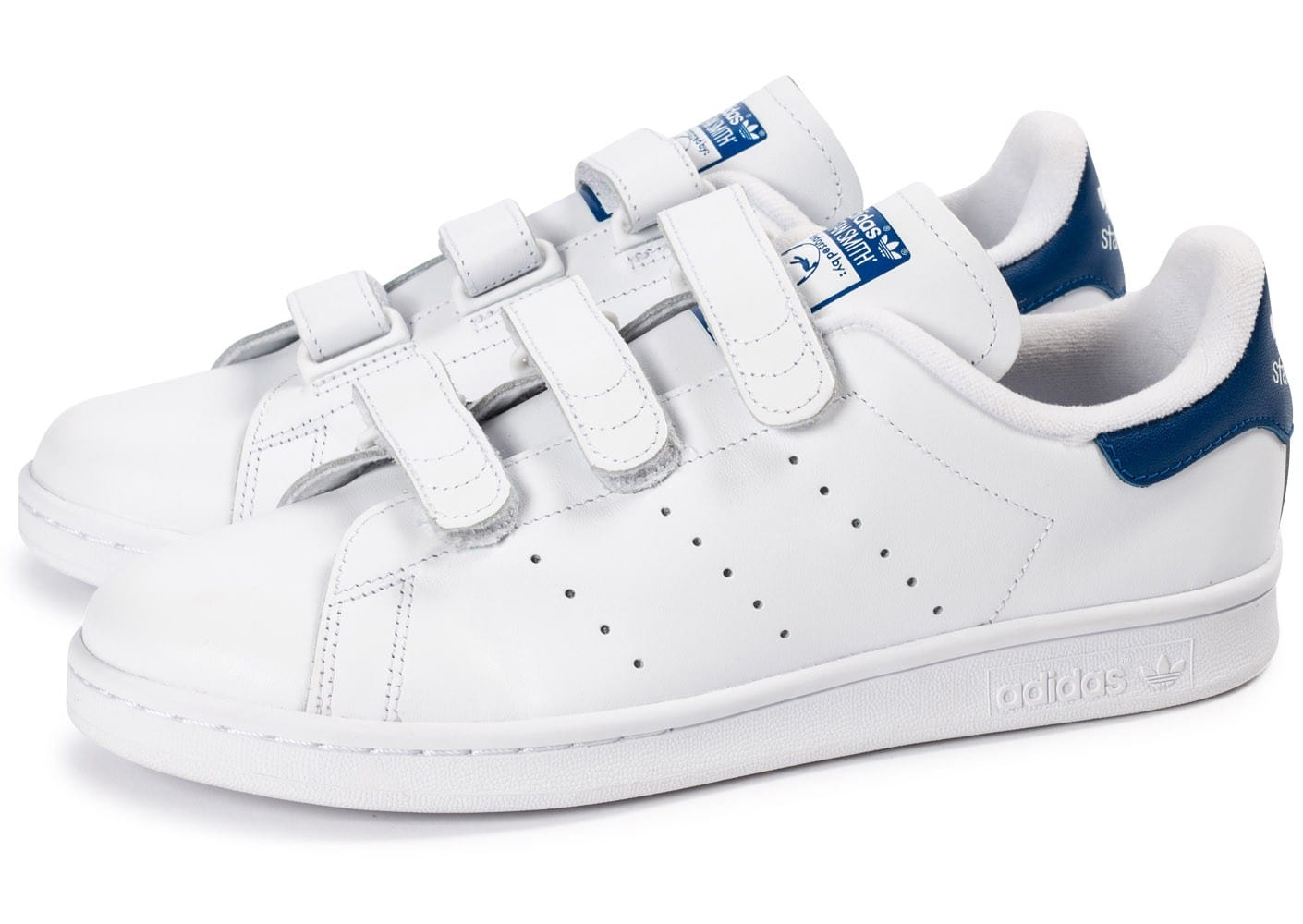 adidas stan smith bleu blanc
