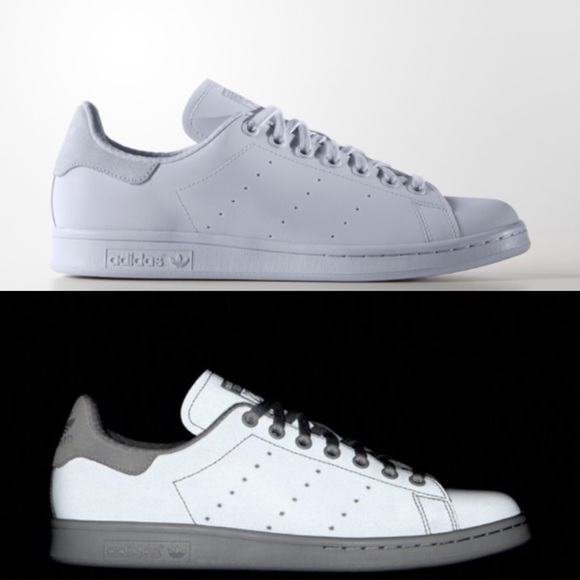 adidas stan smith reflective